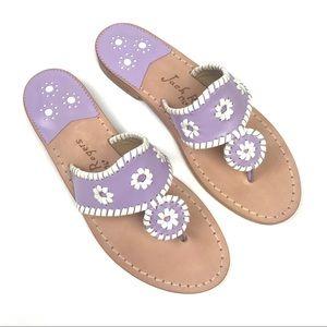 NWOT Jack Rodgers Hampton leather sandals